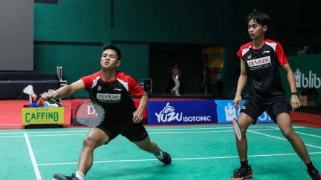 Pebulutangkis ganda putra Indonesia, Rahmat Hidayat dan Muhammad Rayhan Nur Fadillah melaju ke final Denmark Junior IS 2021 - INDOSPORT