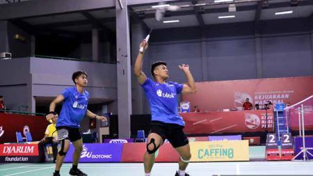 Jadi juara di Liga PB Djarum 2020, pasangan Rahmat Hidayat/Muhammad Rayhan Nur Fadillah digadang-gadang jadi ganda putra masa depan Indonesia? - INDOSPORT