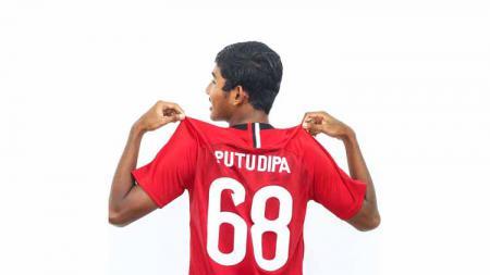 Pemain muda Bali United, Putu Dipa - INDOSPORT