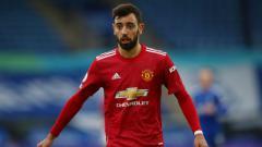Indosport - Gelandang Manchester United, Bruno Fernandes.