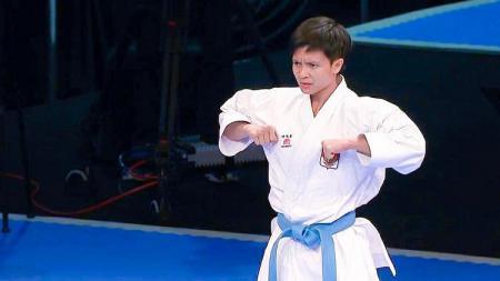 Atlet karate nasional, Ayu Rahmawati. - INDOSPORT