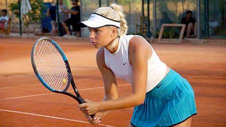 Angelina Graovac, petenis junior asal Australia. - INDOSPORT