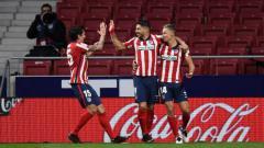Indosport - Top Skor LaLiga Spanyol Hari Ini: Luis Suarez ke Posisi Puncak.