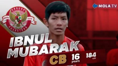 Pemain Garuda Select 3, Ibnul Mubarak. - INDOSPORT