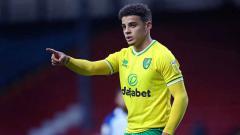 Indosport - Dibidik MU dan Munchen, Norwich City Pasang Harga Mahal untuk Max Aarons.