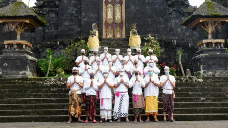 Tim basket Bali United akan menantang Pelita Jaya Jakarta pada partai pertama Indonesia Basketball League (IBL) 2021 di Mahaka Square Arena, Jakarta Utara. - INDOSPORT