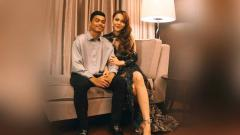 Indosport - Alfath Fathier dan Ratu Rizky Nabila.