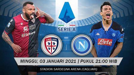 Prediksi Serie A Liga Italia: Cagliari vs Napoli, Hapus Tren Negatif. - INDOSPORT