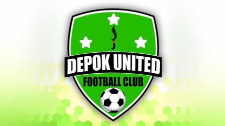 Logo klub Depok United FC. - INDOSPORT