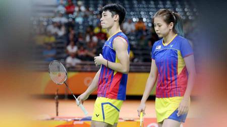 Kembali bereuni dengan Chin Eei Hui, pebulutangkis ganda campuran independen Malaysia Chan Peng Soon sampai tidak bisa berkata-kata. - INDOSPORT