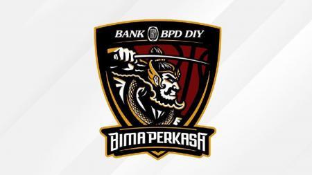Logo tim IBL 2021, Bank BPD DIY Bima Perkasa. - INDOSPORT