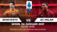Indosport - Benevento vs Ac Milan.