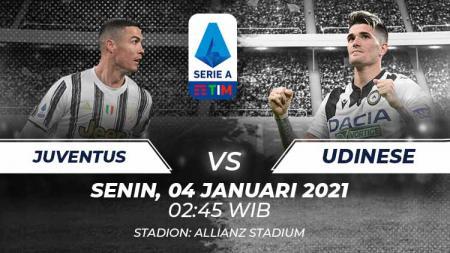 Juventus vs Udinese. - INDOSPORT