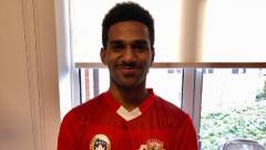 Indosport - Pemain Garuda Select 3 yang berposisi sebagai pemain bertahan, Daniel Naa.