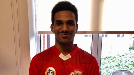 Pemain Garuda Select 3 yang berposisi sebagai pemain bertahan, Daniel Naa. - INDOSPORT