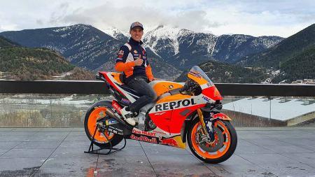Pembalab MotoGp asal Spanyol team Repsol Honda, Pol Espargaro. - INDOSPORT