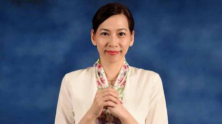 Huang Hua, jawara Singapore Open yang memutuskan menjadi Warga Negara Indonesia (WNI) dan merupakan eks pebulutangkis bintang China di sektor tunggal putri. - INDOSPORT