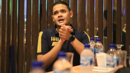 Presiden Persik Kediri, Abdul Hakim Bafagih. - INDOSPORT