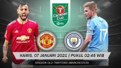 Indosport - Manchester United akan menghadapi Manchester City di semifinal Carabao Cup, Kamis (07/01/21). Berikut 3 alasan kenapa MU akan memenangi laga ini.