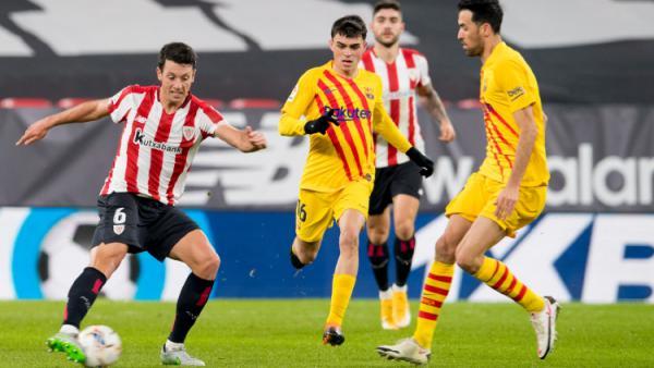 Hasil Athletic Bilbao vs Barcelona: Messi Brace, El Barca ...