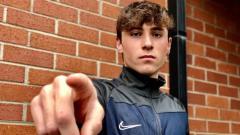 Indosport - Gelandang muda dari skuat FC Como U-17, Elia Di Guiliomaria.