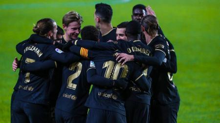 Berikut rekap hasil pertandingan LaLiga Spanyol pekan ke-20, kala Barcelona mengejar, Atletico Madrid menjauh usai menang 3-1 atas Valencia. - INDOSPORT