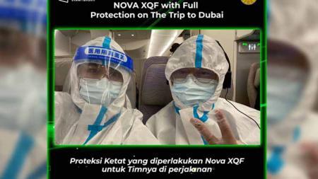 Tim Nova XQF berangkat ke Dubai. - INDOSPORT