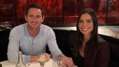 Indosport - Frank Lampard dan sang istri, Christine Lampard.