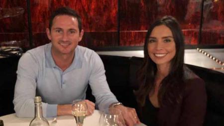 Frank Lampard dan sang istri, Christine Lampard. - INDOSPORT
