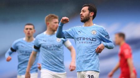 Live streaming pertandingan Liga Inggris antara Manchester City vs Crystal Palace bakal tersaji di Etihad Stadium pada Senin (18/1/2021). - INDOSPORT