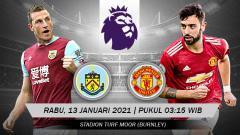 Indosport - Prediksi Liga Inggris: Burnley vs Man United, Rebut Posisi Puncak!.