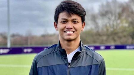 Bek muda PSS Sleman di Garuda Select, Hokky Caraka Bintang Briliant. - INDOSPORT
