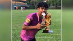Indosport - Pemain Garuda Select 3, Muhammad Faiz Maulana.