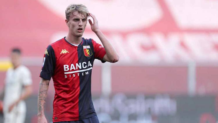 Nicolo Rovella, pemain Genoa. Copyright: Marco Canoniero/LightRocket via Getty Images