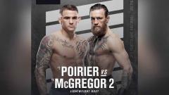 Indosport - Conor McGregor vs Dustin Poirier di UFC 257.