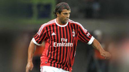 Gianluigi Lentini saat masih berseragam AC Milan. - INDOSPORT