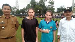 Indosport - Dua pemain Argentina ikuti seleksi di PS Palembang.