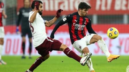 Terselip tiga fakta mengejutkan saat AC Milan sukses menyingkirkan Torino di babak 16 besar Coppa Italia 2020-2021. - INDOSPORT