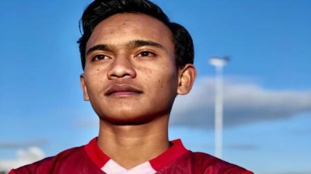 Pemain Garuda Select 3, Ridho Syuhada. - INDOSPORT