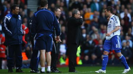 Frank Lampard dan Avram Grant saat bekerja sama di Chelsea. - INDOSPORT