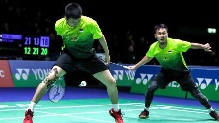 Lika-liku perjalanan pasangan ganda putra no. 2 Indonesia Mohammad Ahsan/Hendra Setiawan untuk bisa lolos ke BWF World Tour Finals 2021. - INDOSPORT