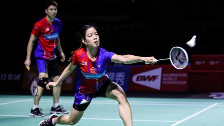 Berupaya menyingkirkan wakil Indonesia di Olimpiade Tokyo 2020, pasangan independen Malaysia, Goh Soon Huat/Shevon Lai Jemie alami dilema. - INDOSPORT