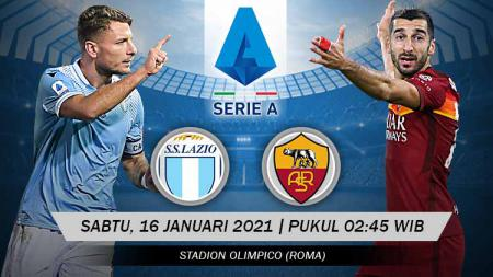 Pertandingan Lazio vs AS Roma (Serie A). - INDOSPORT