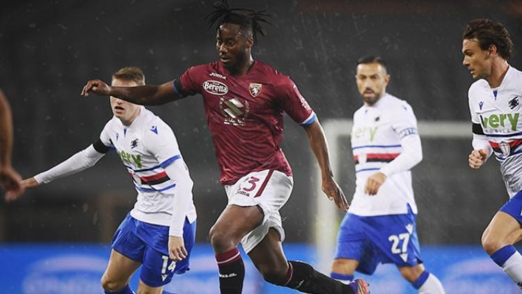 Gelandang Torino,  Soualiho Meite Jadi Rekrutan Pertama AC Milan Copyright: twitter.com/TorinoFC1906_En