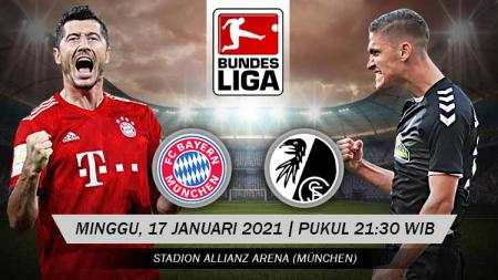 Pertandingan Bayern Munchen vs Freigburg (Bundesliga). - INDOSPORT