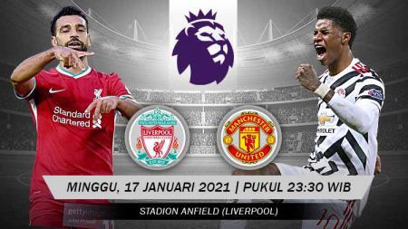 Pemuncak klasemen Liga Inggris, Manchester United, akan dijamu Liverpool, Minggu (17/01/21) malam. Berikut 5 alasan mereka bakal sulit raih kemenangan. - INDOSPORT