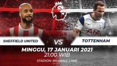 Indosport - Sheffield united vs Tottenham.