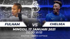 Indosport - Fulham vs Chelsea.