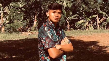 Pemain Garuda Select, Muhammad Faqih Maulana. - INDOSPORT