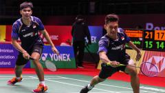 Indosport - Leo Rolly Carnando/Daniel Marthin bakal jalani laga berat di perempat final Swiss Open 2021